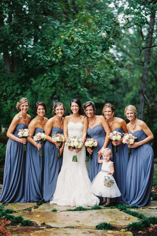 Sweetheart Bridesmaid Dresses A Line Ruched