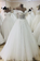 See-Through Off The Shoulder Long Wedding Dress With
