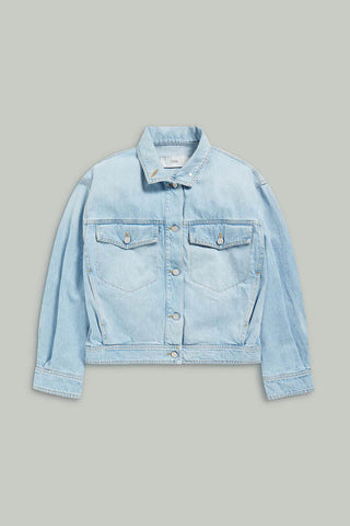 Jeans Jacket Island Light Blue