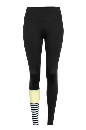 Hey Honey Leggings Surf Style Yellow