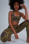 Hey Honey Leggings Hawaii Olive