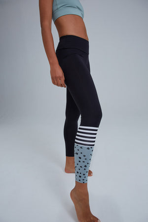 Hey Honey Leggings Surf Style Dots