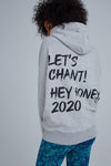 Hey Honey Hoodie Chant Grey
