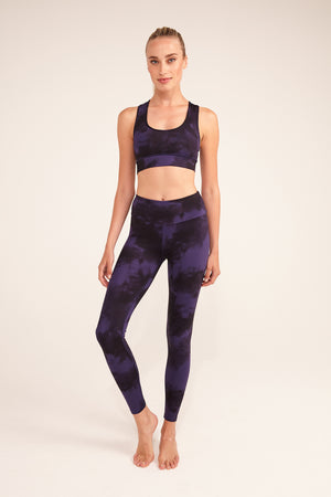 Hey Honey Leggings Tie Dye Astral Blue