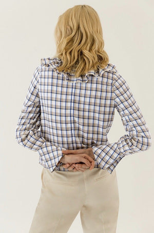 Ivy & Oak Check Blouse