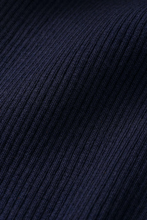 Ivy & Oak Knit Pants Navy Blue