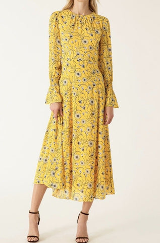 Ivy & Oak Flower Midi Dress