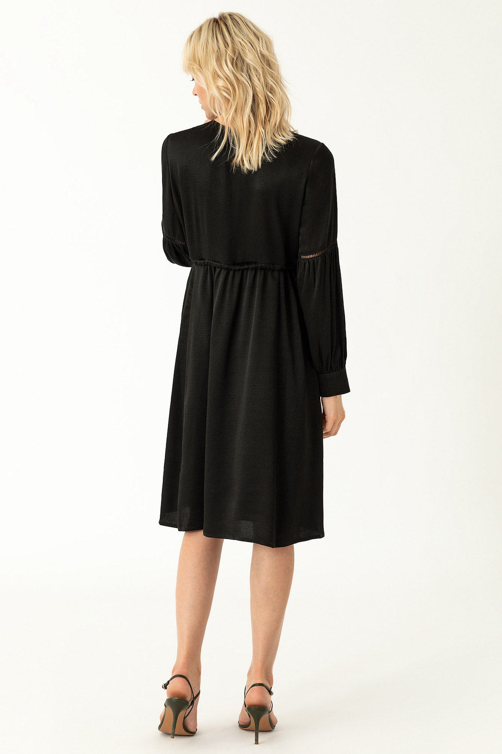 Ivy & Oak Maternity Tunic Dress Black