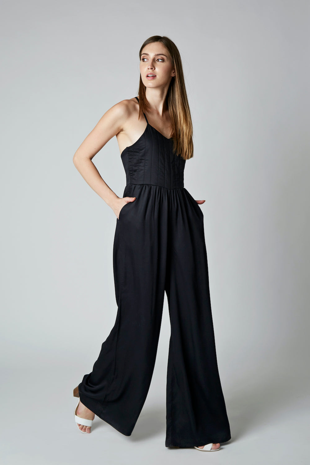 Alika Jumpsuit Black