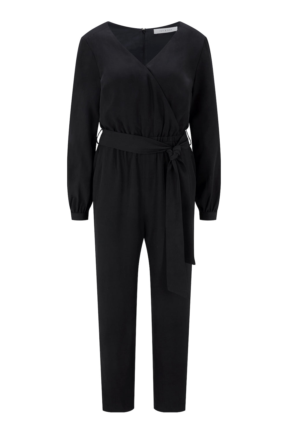 Ivy & Oak Cropped Jumpsuit Black