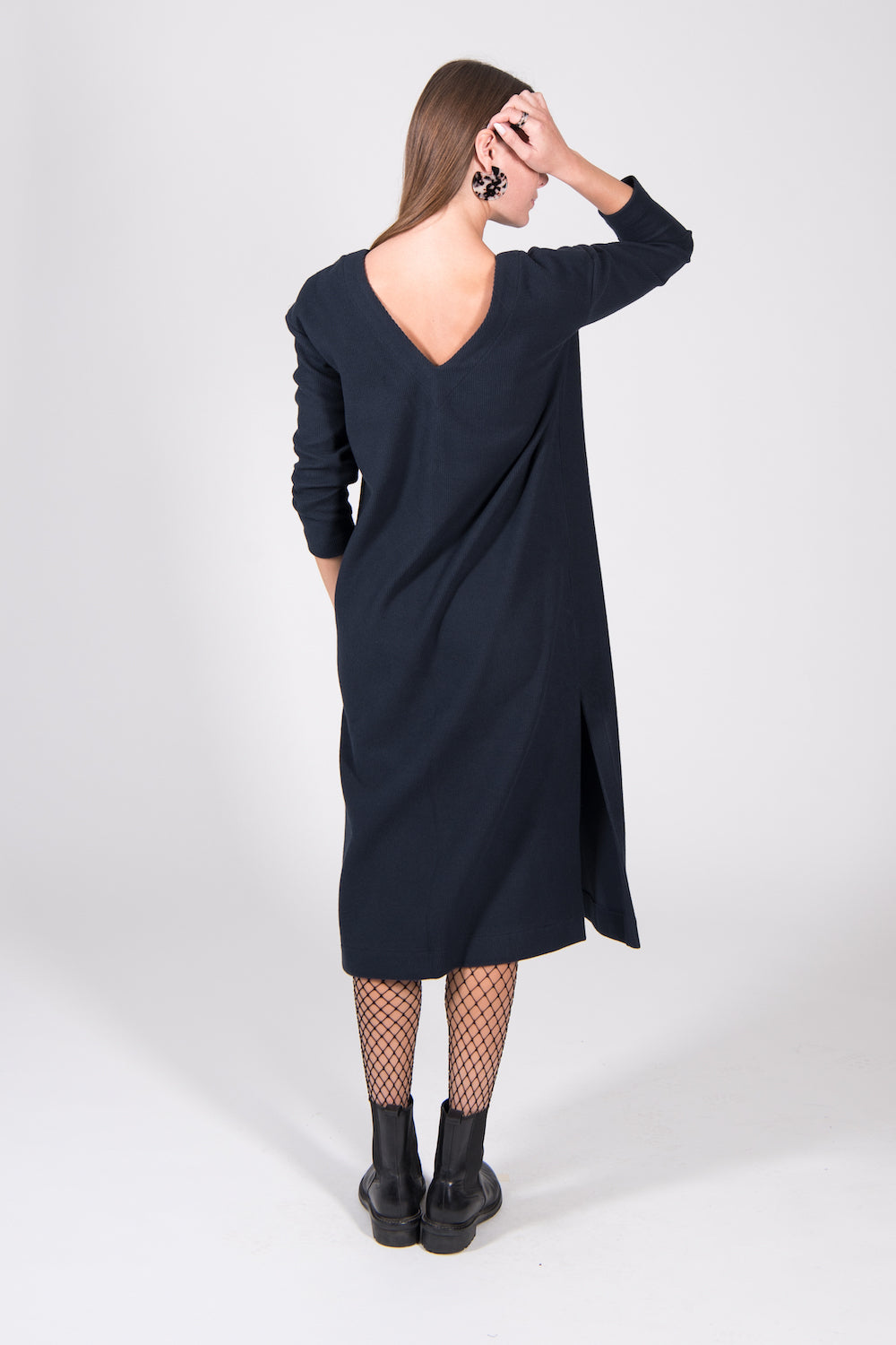 Jan 'n June Luton Dress Midnight Blue
