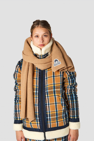 Kings of Indigo Scarf Camel