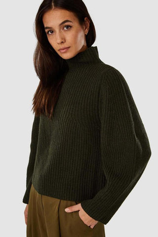 Hisa Jumper Green