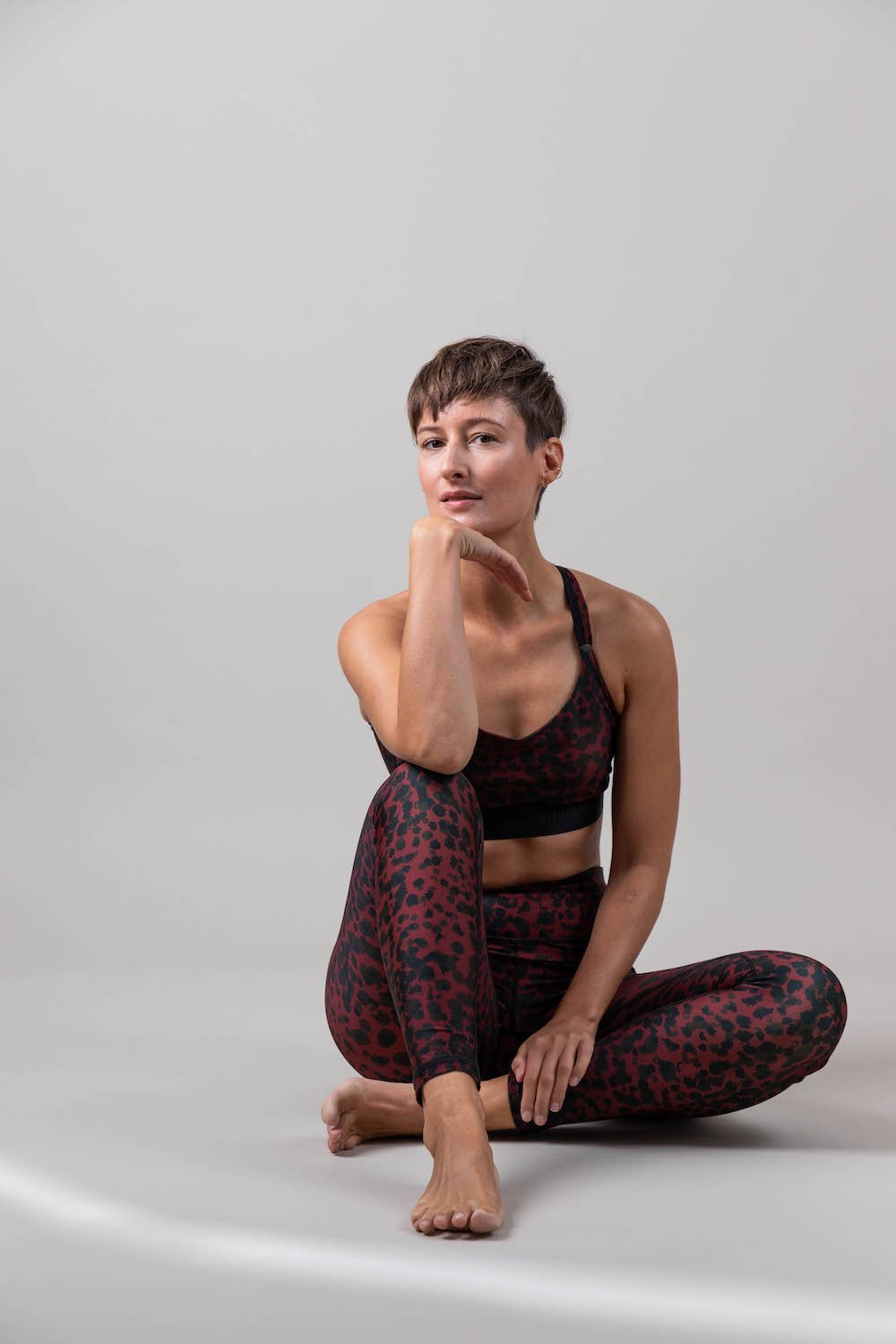Ambiletics Leggings Sunset Glow Leopard