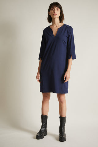 Lanius Jersey Dress Dark Blue