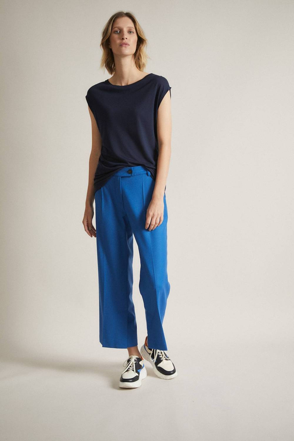 Trousers Electric Blue