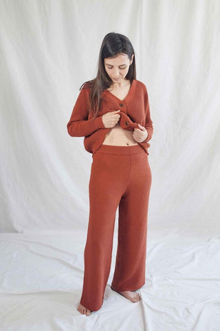 Louise Trousers Red