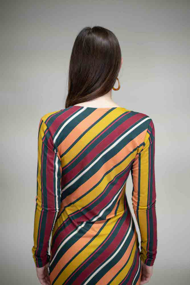Lanius Striped Dress