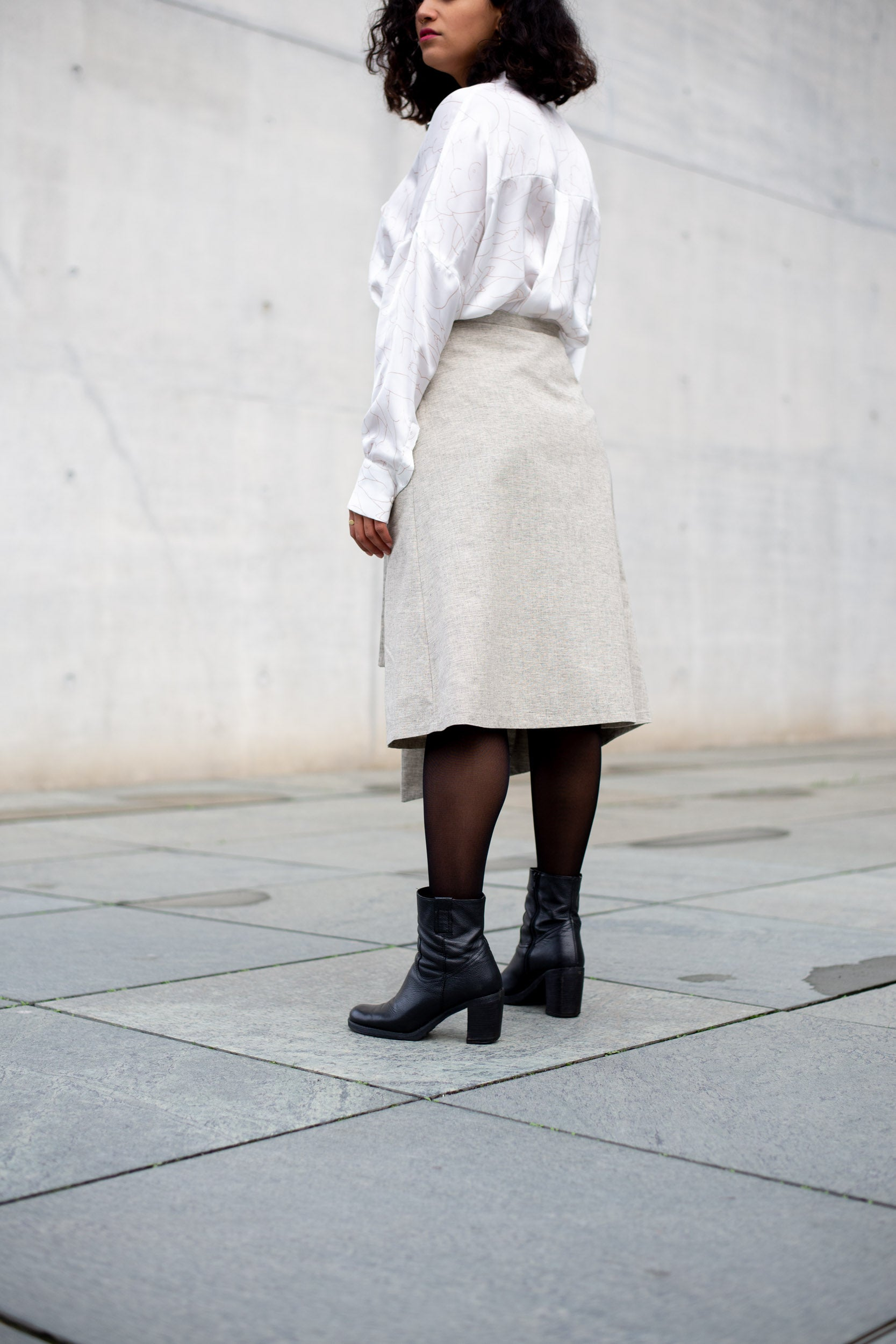 Milavert Straight Skirt