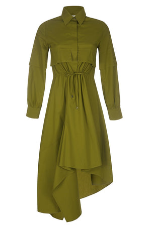 Shirt Dress Kaleva Green
