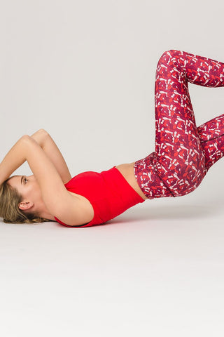 Pure by Luce Leggings Naomi Red