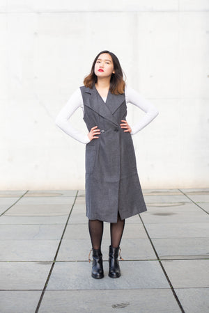 Siizu Dress Coat