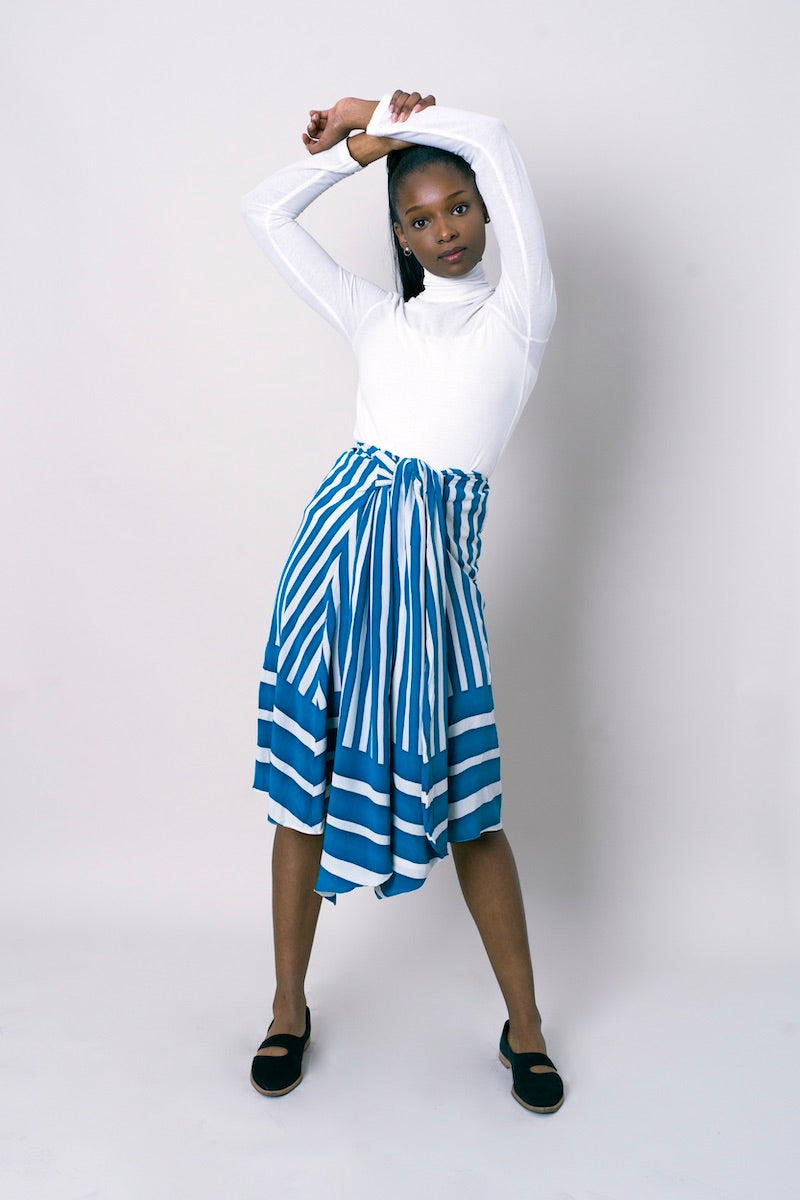Tome Striped Skirt