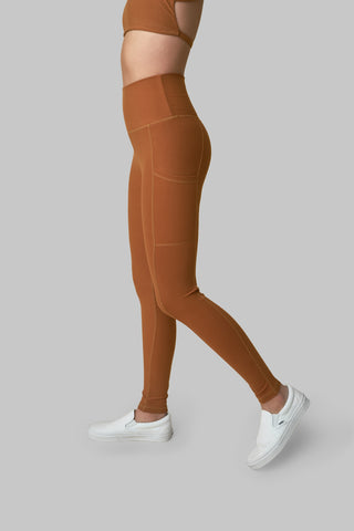 Wolven Leggings Turmeric Pocket