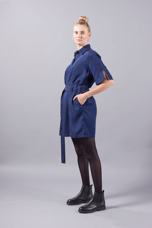 Kings of Indigo Marguerite Dress