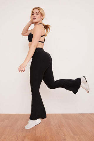 Leggings Onyx Bell Bottom Black