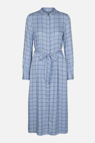 Moss Copenhagen Check Dress