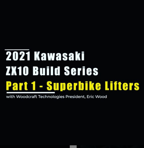 2021 Kawasaki ZX10 Build Part 1 - Superbike Lifters