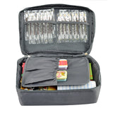 Grey Outdoor First Aid Kit Travel Bag