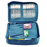 Purplish Blue Outdoor Travel First Aid Kit Bag