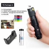 Mini LED Waterproof Flashlight