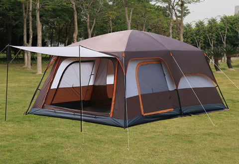 Ultra Large Double Layer Tent with Living Rooms