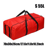 Large Capacity Oxford Travel Luggage Bag Outdoor Travel Duffle Bag Foldable Bag Shoulder Strap 55L 100L 150L