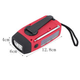 Portable Emergency Hand Crank Generator Flashlight