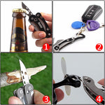 Small Portable Folding Multi Tools Camping Equipment