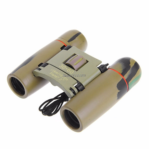 Foldable Day Night Vision 30 x 60 Zoom Binoculars