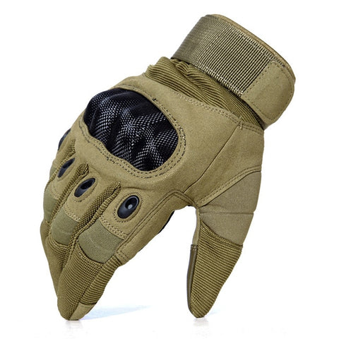 Men's Full Finger Leather Gloves