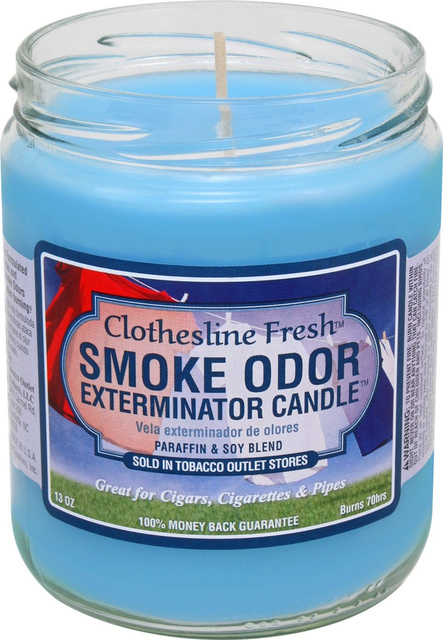 Smoke Odor 13oz. Candle - Clothesline Fresh