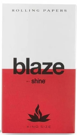Blaze - King Size Papers by Shine - 32Pcs