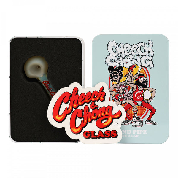 Cheech & Chong - Dodger Hand Pipe in a Collectible Tin
