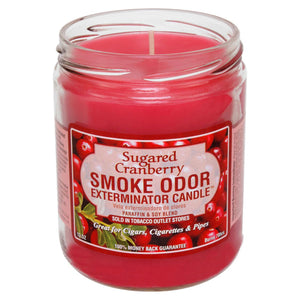Smoke Odor 13oz. Candle - Sugared Cranberry