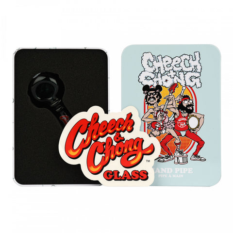 Cheech & Chong - I. Zimmerman Hand Pipe in a Collectible Tin