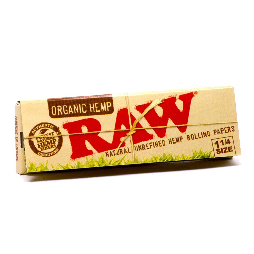 RAW Organic Hemp - 1-1/4 Rolling Papers