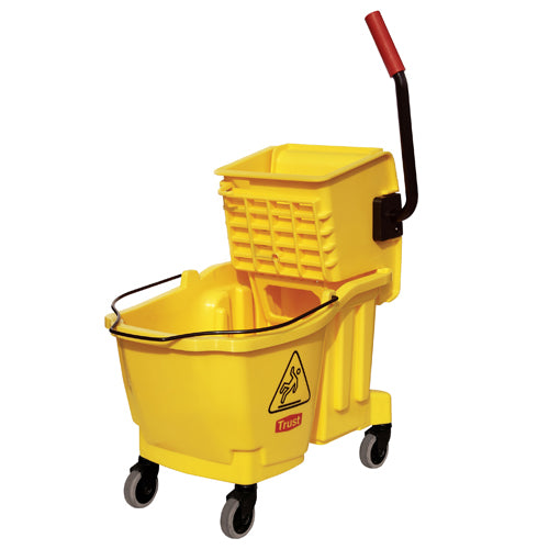 Mop bucket 33L Yellow. Grandmaid