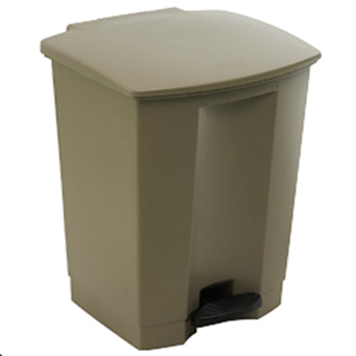 Step-on container 30L Beige
