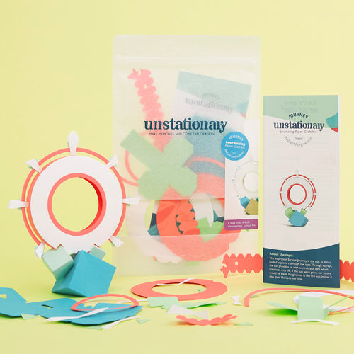 Journey: Journaling Paper-Craft Kit - Topic: Radiant Forgiveness